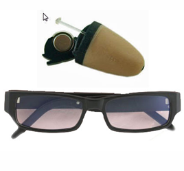 Spy Bluetooth Glasses Earpiece